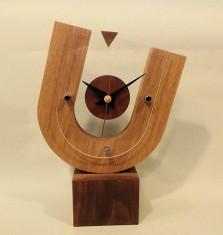 ↑木の時計/桑原 正